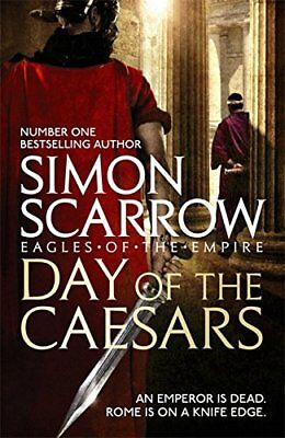 Day of the Caesars  by Simon Scarrow (Paperback, 2018) 9781472213389