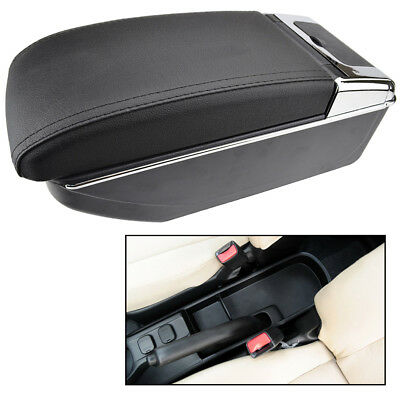 Storage Box For Mazda 2 Demio 2008 - 2013 Arm Rest Dual Armrest Car Cup Holder
