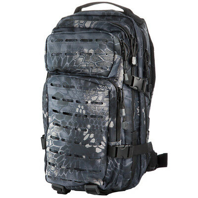 Sac A Dos 30L Us Assault I 'laser' S Black Voyage Militaire Outdoor Paintball