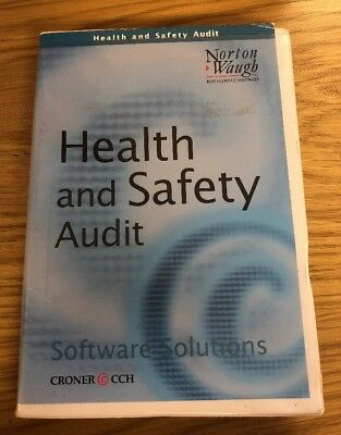 Health And Safety Audit, Software Solitions, Cd & Manual, Training, Norton Waugh