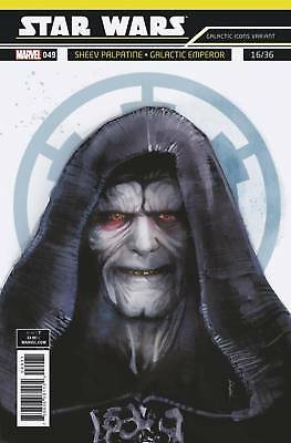 Marvel Star Wars #49 Icon Variant First Print