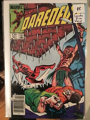 DAREDEVIL #211 VF 1st Print CANADIAN PRICE VARIANT Newsstand