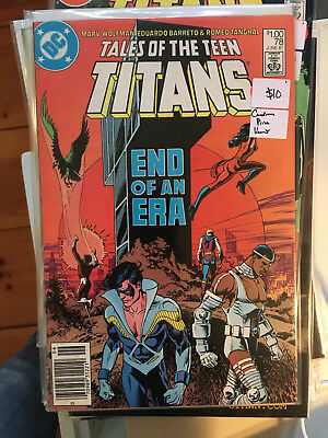 TALES OF THE TEEN TITANS #78 VF/NM 1st Print CANADIAN PRICE VARIANT Newsstand