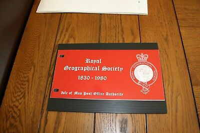 1980 Isle of Man Post Office Authority Five Presentation Packs