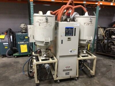 Matsui DMZ-120 120 cfm Rotary Desiccant Dryer with Dual Hoppers (#10157)