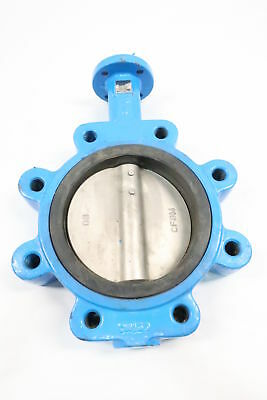 Spence/ssi Iron 125 Flanged 6in Lug Butterfly Valve