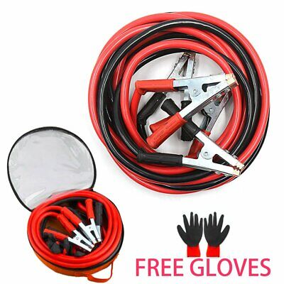 2000AMP Heavy Duty Jump Leads 5M Start Booster Battery Cables Car Van UK