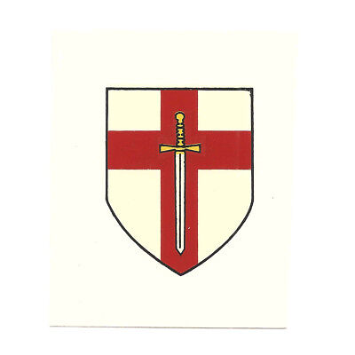 British WWII Unit Helmet Decal: British 1st Army