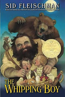 The Whipping Boy by Sid Fleischman (English) Paperback Book Free Shipping!