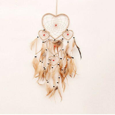 Dream Catcher Handicrafts Dream Catcher Large INDIAN COLOR WITH FIVE RINGS