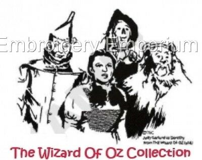 The Wizard Of Oz Collection - Machine Embroidery Designs On Cd