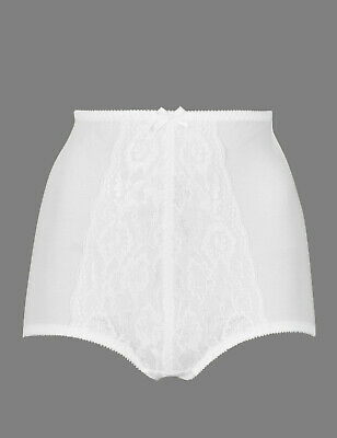 M/&S Firm Control Full Brief Size 8//10//12//22 Tummy control KNICKER Pantie Natural