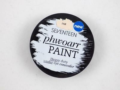 Boots 17 Seventeen Phwoarr Paint Heavy Duty Under Eye Concealer Medium & Fair