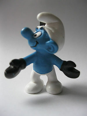 SCORPIO SMURF stamped Schleich Peyo 2009 PVC Figure about 2 inches high