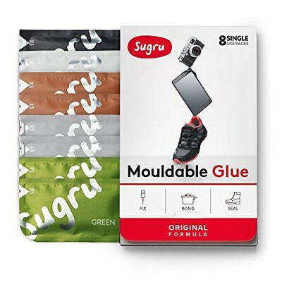 Sugru Moldable Glue - Original Formula - Natural Colours 8-Pack