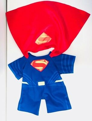 Build A Bear Superman Costume Outfit With Cape Great Condition  sc 1 st  PicClick & BUILD A Bear workshop Batman the Dark Knight Costume (fits 16