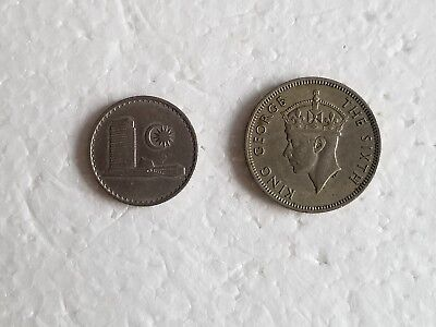 ~~10 SEN and 20 Cents Malaysia Coins  1967 and 1950~~ mylot7