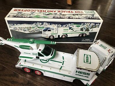 2006 HESS TOY TRUCK AND HELICOPTER with Box