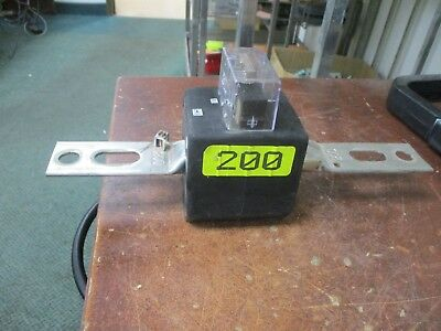Schlumberger Type R6B Current Transformer 92354-006 Ratio 200:5A 600V 60Hz Used