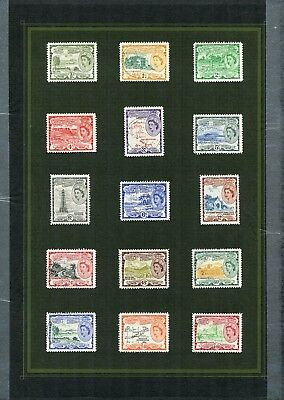 Weeda St. Kitts & Nevis 120/241 VF LH 1954-1971 Commonwealth issues CV $97.50