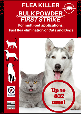Flea Killer. fast acting, 832 oral applications for dogs and cats all sizes