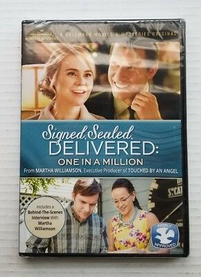Signed, Sealed, Delivered: One in a Million (DVD, 2017) Hallmark - *BRAND NEW *