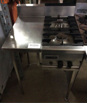 Zanussi Commercial Gas Cooktop and bench