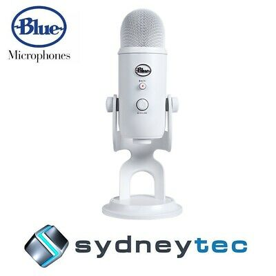 New Blue Microphones Yeti 3-Capsule USB Microphone - White