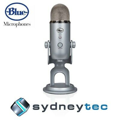 New Blue Microphones Yeti 3-Capsule USB Microphone - Silver