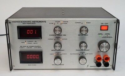 Hoefer PS2500 0-2500v 0-300ma 375w High Voltage Power Supply PS 2500