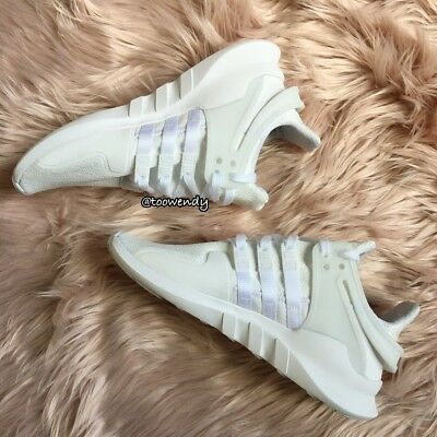 buy online 69756 1c287 Adidas EQT Support ADV Shoes Youth (GS) Juniors Womens Shoes White CP9783
