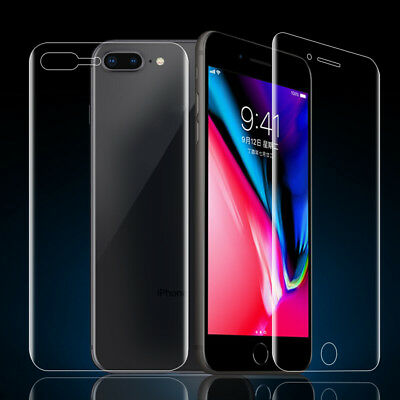 1x Full Cover Anti-scratch Front/Back HD Hydrophilic Film for Apple iPhone X hg2