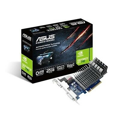 Asus nVidia GeForce GT 710 2GB Silent Low Profile Gaming Graphics Video Card