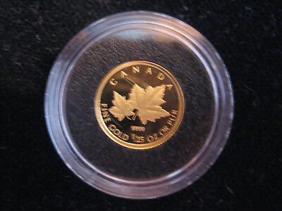 "Mds Kanada Canada 50 Cents 2009 Pp / Proof ""red Maple"", Gold"