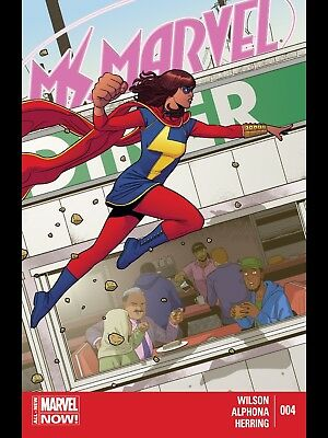 Marvel Now  Ms Marvel #4 First Print