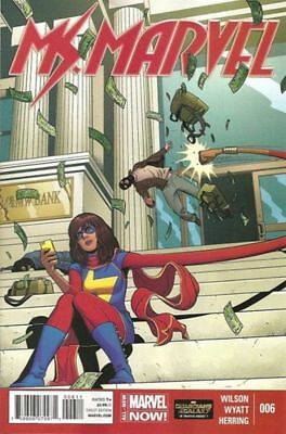 Marvel Now  Ms Marvel #6 First Print