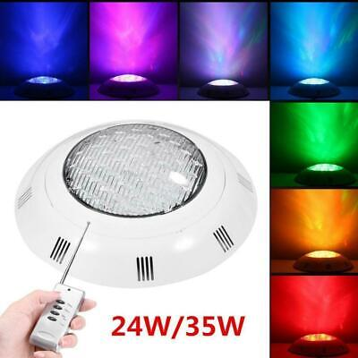 Underwater RGB LED Light Glow Show Swimming Pool Hot Tub Spa Lamp 12V 24W 35W CO