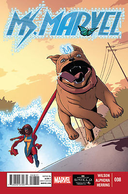 Marvel Now  Ms Marvel #8 First Print