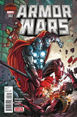 Marvel Armour Wars #2 First Print