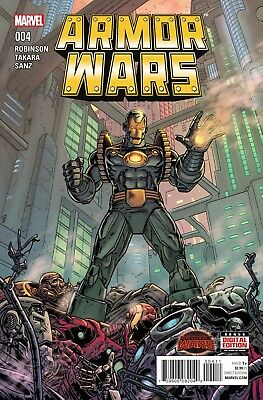 Marvel Armour Wars #4 First Print