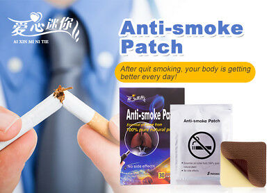 Health Care Anti-smoke Patch 30 Pieces/Box Stop Smoking Patches 100% Natural