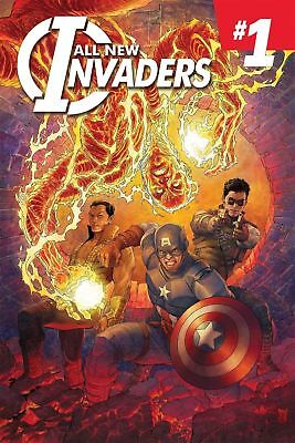 Marvel All New Invaders #1 First Print