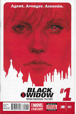 Marvel Black Widow #1 First Print