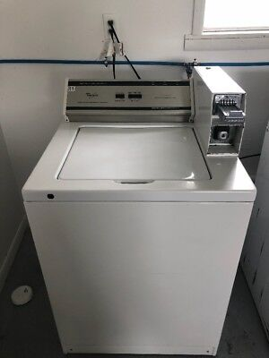Whirlpool Commercial Coin Operated Washer