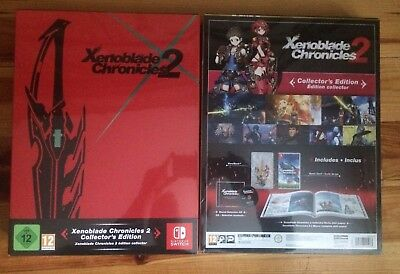 Xenoblade Chronicles 2 Collector's Limited Edition New English Nintendo Switch