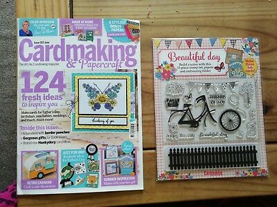 Cardmaking Papercraft Magazine Issue 160 Sealed Pack With Free