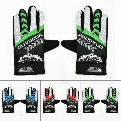 CYCLING GLOVES Mens Ladies Girls Boys Bicycle Bike Cycle Full Finger Mitts