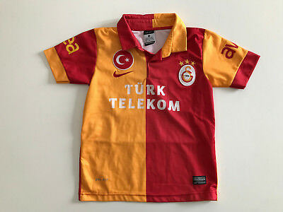 soccer jersey child Galatasaray nike dri-fit tag.128 cm trikot maillot CB138