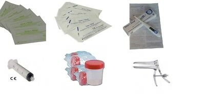 Artificial Insemination Super Deluxe Kit & with Basal Thermometer & Speculum