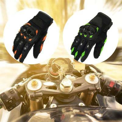 Men Summer Motorcycle Motorbike Gloves Thermal Armoured Knuckle Extra Protection